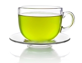 One cup of green tea burns five grams of fat