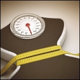 Calculate fat percentage using height and waist circumference